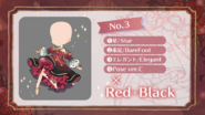 (Design Survey) Color - Red + Black