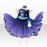 (Tops) Deep-Sea Starfish Elegant Dress ver.A purple
