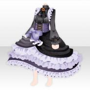 (Tops) Weird Killer Frilled Princess Dress ver.A purple
