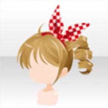 (Hairstyle) Elisa's Cute Ponytail Hair ver.A brown