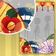 (Show Items) Ayakashi Fox Lanterns and Bangasa Decor1 ver.1