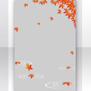 (Show Items) Falling Momiji Leaves Decor1 ver.1