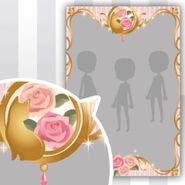 (Show Items) Tea Cat Frame Decor2 ver.1