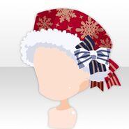 (Head Accessories) Snow Land Romantic Hat ver.A blue