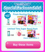 (Packs) Glittery ZOMBIE - Special Packs 4