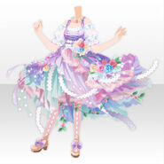 (Tops) CocoPPa Dolls Princess Amar Style ver.A pink