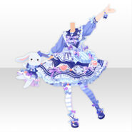 (Tops) CocoPPa Dolls Pop Candy Style ver.A blue