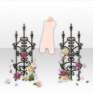 (Back Accessories) Secret Fleur Rose Trellis ver.A brown