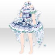 (Tops) Angelic Magical Heart Dress ver.A blue