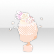 (Head Accessories) Head Accessories) Sweet Rose Headdress ver.A white