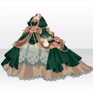(Tops) Snow Land Princess Flower Dress ver.A green