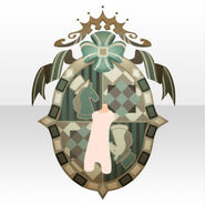 (Back Accessories) Chocolat Kingdom Emblem ver.A green