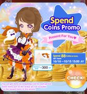(Image) Spend Coins Promotion - Halloween Pre Campaign