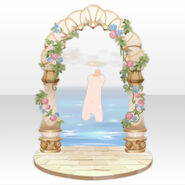 (Back Accessories) Fontana Wonder Arch Gate ver.A brown