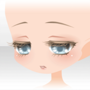 (Face) Bambi Gentle Looking Down Face ver.A blue