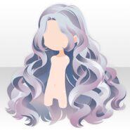 (Hairstyle) Perfume Wavy Long Hair ver.A blue
