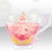 (Tops) Flowers Blooming Tea Fairy Style ver.A pink