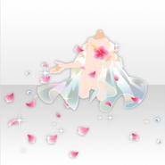 (Outerwear) Hawaiian Resort Flower Shower Stole ver.A pink