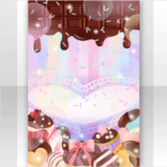 (Show Items) Lovely Blowing a Kiss Melting Chocolate Stage ver.1