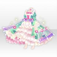 (Tops) Dolls Tea Party Elegant Dress ver.A white