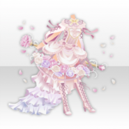 (Tops) Sweet Rose Birdcage Lolita Dress Style ver.A pink