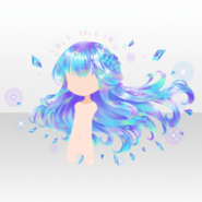 (Hairstyle) Jewelry Princess Twinkle Zoisite Long Hair ver.A blue