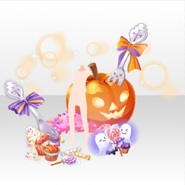 (Back Accessories) Halloween Haunted Lovely Sweets ver.A yellow