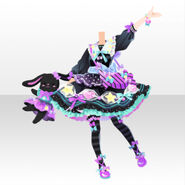(Tops) CocoPPa Dolls Pop Candy Style ver.A black