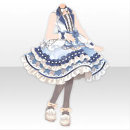 (Tops) Peluche Conductor Dress Style ver.A blue