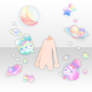 (Avatar Decor) Galaxy Girl Planet ver.A pink