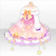 (Tops) Night Dress Party Star Dress ver.A pink