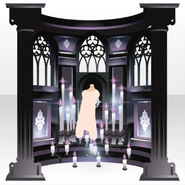 (Back Accessories) Praying Altar ver.A purple