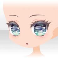 (Face) Happy Makeup Girls Pompous Face ver.A blue