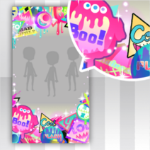 (Show Items) Glittery Zombie Lots of Stickers Decor1 ver.1