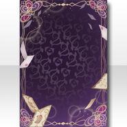 (Wallpaper Profile) Night Phantom Notice Wallpaper ver.A purple
