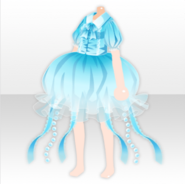 (Tops) Deep-Sea Jellyfish Fairy Dress ver.A pale blue