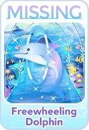 (Characters) Find'em Aquarium - Freewheeling Dolphin
