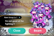 (Characters) Glittery ZOMBIE - Rare Group Appeared