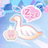 (Characters) Prism Beads - Crown Beads on Duck (Sleeping)