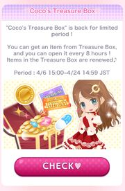 (Promotion) APR New Season Promo 2019 - Coco's Treasure Box