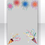 (Show Items) New Year Fireworks and Cracker Decor1 ver.1