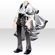 (Tops) Elegant Perfume Suit Style ver.A black