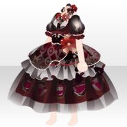 (Tops) Elegant Perfume Dress ver.A red
