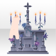 (Avatar Decor) In Front of Ghost Bride Altar ver.A blue