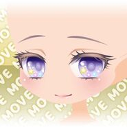 (Face) Horoscope☆Star Smiling Face ver.A purple