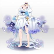 (Tops) Fallen Feather Water Angel Dress ver.A blue