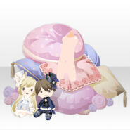 (Body Accessories) Fontana Wonder Cushion ver.A pink