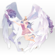 (Tops) Angel Bringing Love with Pegasus ver.A pink
