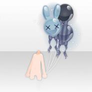 (Hand Accessories) Hollow Park Rabbit Balloon ver.A blue