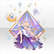 (Tops) Prism Moon Mysterious Witch Style ver.A purple